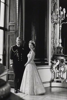 Prince Philip, the Duke of Edinburgh, and Her Majesty, Queen Elizabeth II, by…