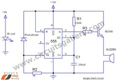 How to Make a Burglar Alarm Circuit for Your Home Security?