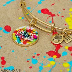 Peace of Mind charm bangle Creativity • Understanding • Hope | Alex + Ani & Charity by Design