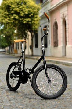 Vintage Folding Bike @Virginia Kraljevic Kraljevic Kraljevic Kraljevic Steinhauer Aires