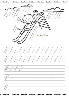 thumbnail of DİK TEMEL HARFLER ÇİZGİ ÇALIŞMALARI 3 Preschool Learning Activities, Preschool Curriculum, Kindergarten Worksheets, Classroom Activities, Teaching Kids, Handwriting Activities, Handwriting Practice, Preschool Painting, Pre Writing