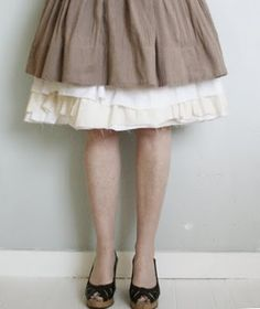 Petticoat skirt DIY