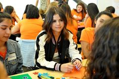 Selena Gomez surprises high school students to share an empowering message http://blbrd.cm/15CO1V