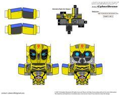 Cubee - Bumblebee 'Movie' by CyberDrone.deviantart.com on @deviantART