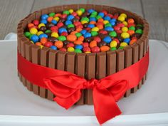 Kit Kat Birthday Party Cake