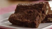 Brownies - sooo good! I only cooked them for 20 minutes and they were perfectly moist and delicious.