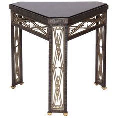 A 1920's Art Deco Table by Jules Bouy | From a unique collection of antique and modern side tables at http://www.1stdibs.com/furniture/tables/side-tables/