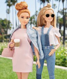 Girlfriend time Barbie