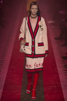 Gucci Spring 2017 Ready-to-Wear Fashion Show - Gerda Mic                                                                                                                                                                                 More