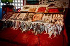 Fish market, Agadir, Morocco.