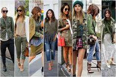 Resultado de imagem para moda militar 2015