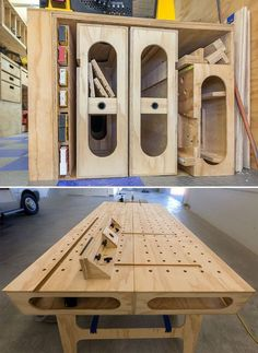Interview with Ron Paulk on the Design of His Innovative Paulk Workbench - Core77