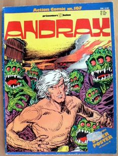 Action Comic 107 - Andrax - Gevacur