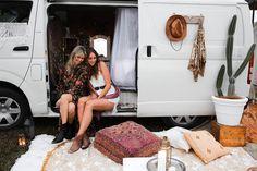 Spell Festival Van Set Up
