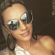 Luxury Brand Design Sunglasses Women Female Sun Glasses For Women Glasses  Driving Mirror Vintage Cat Eye Sunglasses Ladies 2017 53c62d4f17b3