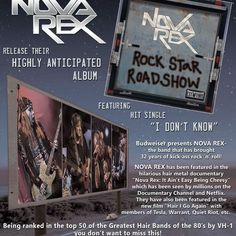 """Check out """"Hair Metal Mansion Radio Show #533 w/ Kenny Wilkerson of Nova Rex"""" by AndrewAxeman/HairMetalMansion on Mixcloud"""