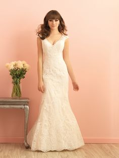 Perfect for any modest bride who loves to bring on the romance. Allure Romance 2862 -found at Diane's Dresses, Etc.