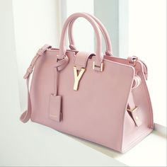 "#YSL Top Handle Bag .......Follow Pink Bags: https://www.pinterest.com/lyndanna/pink-handbags/... Get Your Free Course ""Viral Images for Pinterest"" Now at: CashForBloggers.com"
