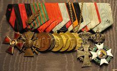 Наградная колодка Николая II