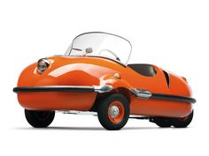 1955–58 Prochie Avolette Record De Luxe. I don't even know what's happening with this car, but I love it!