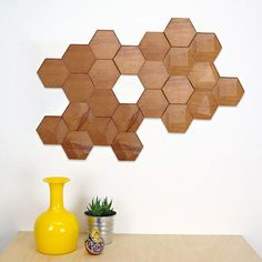 Keeping things natural brings its own rewards—an organic philosophy that the team behind Spanish label Monóculo Design Studio apply to the world of interior design. A delicate exploration of geometric form, the Bee Apis Wall Tiles are handcrafted in the label's workshop from natural beech and cedar woods in both flat and faceted textural expressions.
