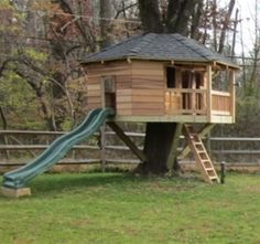 10' Diameter Hexagonal Treehouse Plan - great for twins shared by www.twinsgiftcompany.co.uk