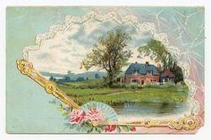 Vintage postcard by hanan.crystal