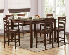 Homelegance D5364-36-DIN-SET Tyler Counter Height Dining Set by Homelegance. $550.00. Tyler Counter Height Dining Set by Homelegance D5364-36-DIN-SET. Clean lines exemplify the modern design of the Tyler Collection. Contemporized ladder back chairs surround the solid wood table. The warm brown espresso finish further enhances the look of this casually modern collection. Please refer to the Specifications to determine what items are included since sometimes the image shows ...