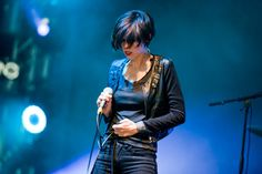Hayley Mary of The Jezabels