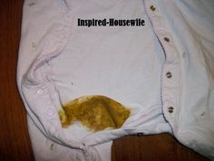 How To Get Infant Poop Stains Out Of Clothes Infant And Babies