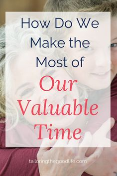 We all want to use our time to the fullest, right? Learn about wasting time, identifying what is important to you, and 3 tactics for making good use of your time.#productivity #motivation #timemanagement #dontwastetime