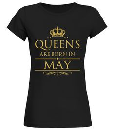 CHECK OUT OTHER AWESOME DESIGNS HERE!      Shop for Birthday Gift Guide shirts, hoodies and gifts. Find Birthday Gift Guide designs printed with care on top quality garments. Born in May, birthday, gift, gift for her, birthday gift, funny birthday gift, awesome birthday gift, best birthday gift, happy birthday. Queens Are Born In May - Birthday T-Shirt     TIP: If you buy 2 or more (hint: make a gift for someone or team up) you'll save quite a lot on shipping.           Guaranteed s...