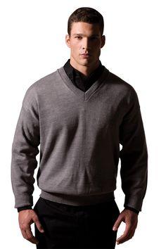 True to Size Apparel - Mens V-Neck Sweater - Machine Washable, Colorfast, $31.36 (http://truetosizeapparel.com/mens-v-neck-sweater-machine-washable-colorfast/)