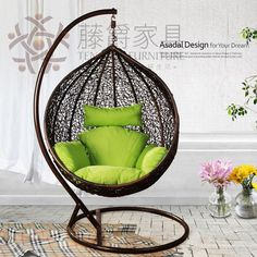 $91.  http://www.aliexpress.com/item/Casual-rattan-furniture-rattan-rocking-chair-bird-nest-hanging-chair-hammock-swing-rattan-chair-indoor-rattan/1120489344.html