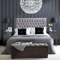 dormitorios negros dormitorios.blogspot.com