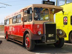 tow bus - Google Search Tow Truck, Fire Trucks, South Yorkshire Transport, Classic Trucks, Classic Cars, Bus Coach, Weird Cars, Bus Conversion, Busses