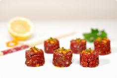 Sushi de Chianti de Dario Cecchini (Steak Tartar)