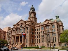 Tarrant County Courthouse (Fort Worth, Texas) by courthouselover, via Flickr
