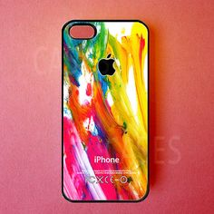 Iphone 5 Case Colorful Paint Iphone Cover Best by DzinerCases, $14.99