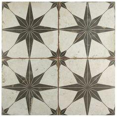 EliteTile Rama x Porcelain Honeycomb Mosaic Wall & Floor Tile Ceramic Floor Tiles, Wall And Floor Tiles, Wall Tiles, Floor Patterns, Wall Patterns, Star Patterns, Mosaic Patterns, Mandarin Stone, Art Deco Stil
