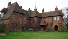 The Red House of Morris, Philip Webb 1859, pre-raphaelism