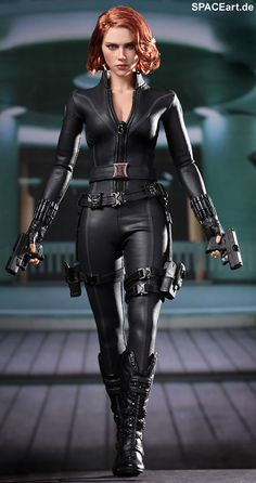 Marvel The Avengers Black Widow 1/6th Scale Collectible Figure Hot Toys Movie Masterpiece Series | Scarlett Johansson