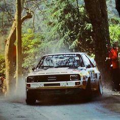 Rally Portugal 1985 Walter Röhrl .