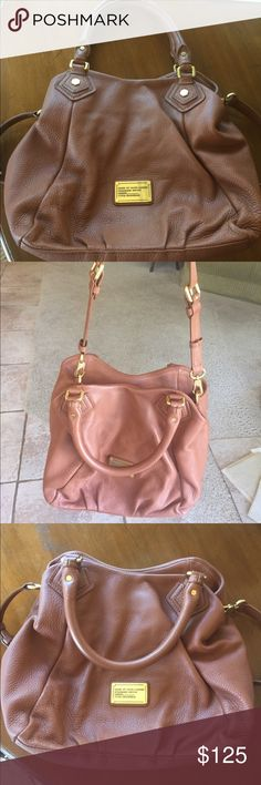 Marc by Marc Jacobs leather hobo bag Lightly used (1-2 times) in GREAT condition Marc By Marc Jacobs Bags Hobos
