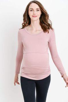 f1ccea5bff4 Ali Feed Friendly Maternity + Nursing Top