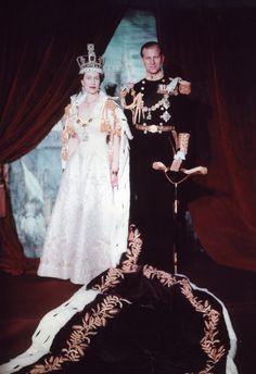 Elizabeth and Philip 1953 - Filipe, Duque de Edimburgo – Wikipédia, a enciclopédia livre