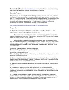 Qualifications For A Resume Examples 7f8ea3a2a The Most Resume
