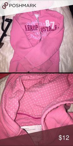 Pink Aeropostale zip up jacket Great condition jacket Jackets & Coats