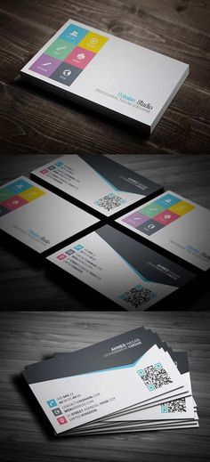 36 Modern Business Cards Examples for Inspiration - 15 #businesscards #visitingcards #corporateidentity #inspiration