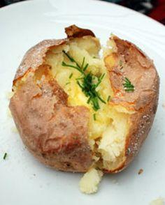 Perfect jacket potato